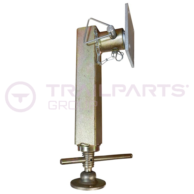 Telescopic jack c/w lock pin and spigot (suits Ifor)