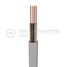 Three core & earth flat cable 1.0mm x 100m H6243Y