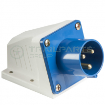 Fixed inlet plug IP44 240V 16A