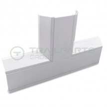 Dado trunking chamfered flat tee 170 x 50mm