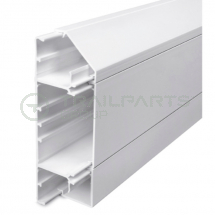 Dado skirting trunking chamfered 170 x 50mm x 3m