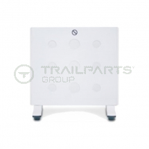 Wall mounted panel heater 240V 400W c/w thermostat