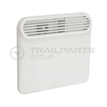 Wall mounted panel heater 240V 500W c/w thermostat & timer