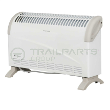 Wall/floor mounted convector heater 1.5kW c/w themostat