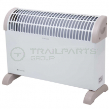 Free standing convector heater 2kW c/w themostat
