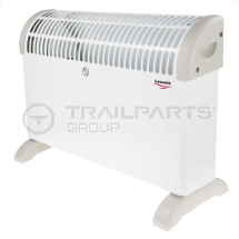 Floor mounted convector heater 2kW themostat & timer
