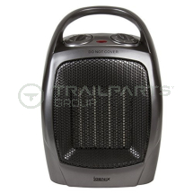 Electric upright portable fan ceramic heater 240V 1.8kW