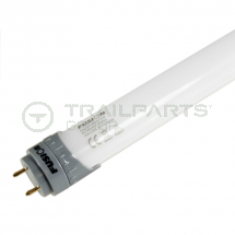 LED fluorescent tube frosted retro fit cool white 23W T8 5'