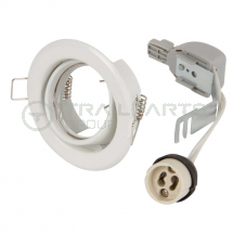 GU10 directional downlight kit white