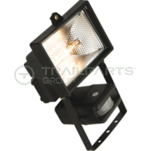 Halogen floodlight 240V 150W IP54 c/w PIR sensor