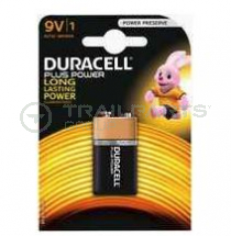 Duracell 9V PP3 battery