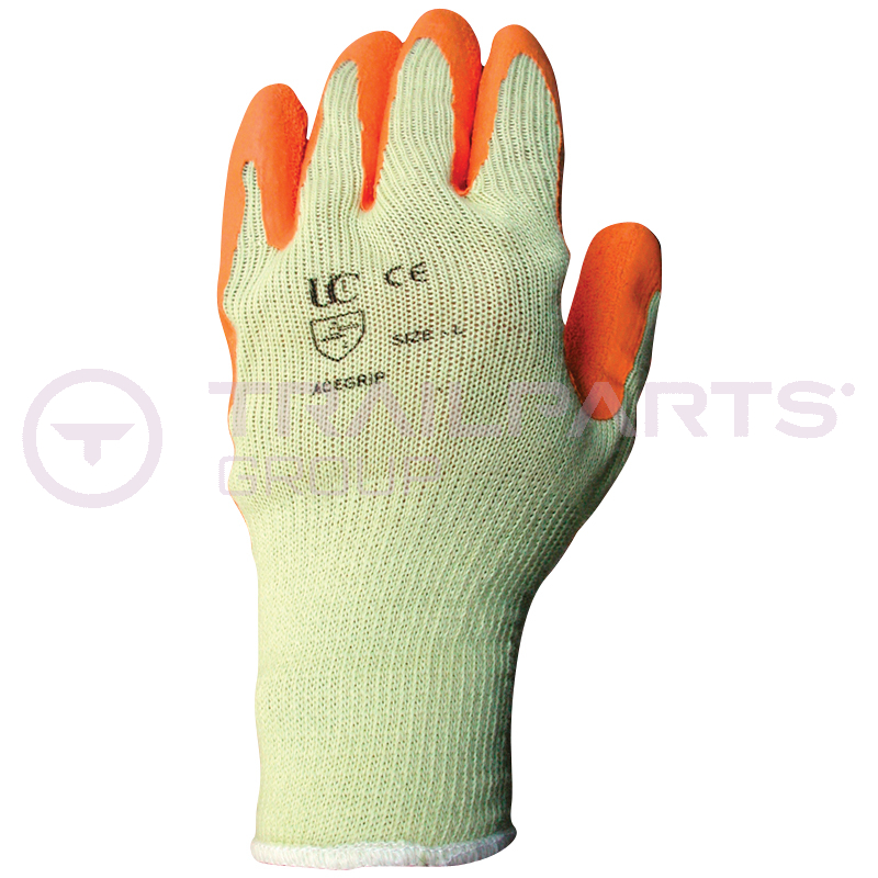 Palm dip gloves Large (pair)