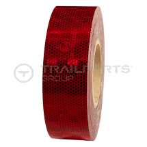 Conspicuity tape 50mm x 50m roll red*