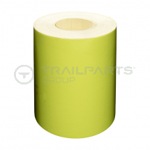 Chapter 8 fluorescent yellow s/a tape 150mm x 25m roll*