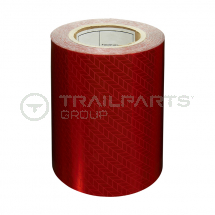 Chapter 8 reflective red s/a tape 150mm x 25m roll