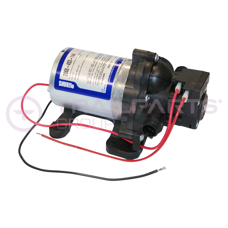 SHURflo water pump 12V 45psi (ON DEMAND) 10LPM