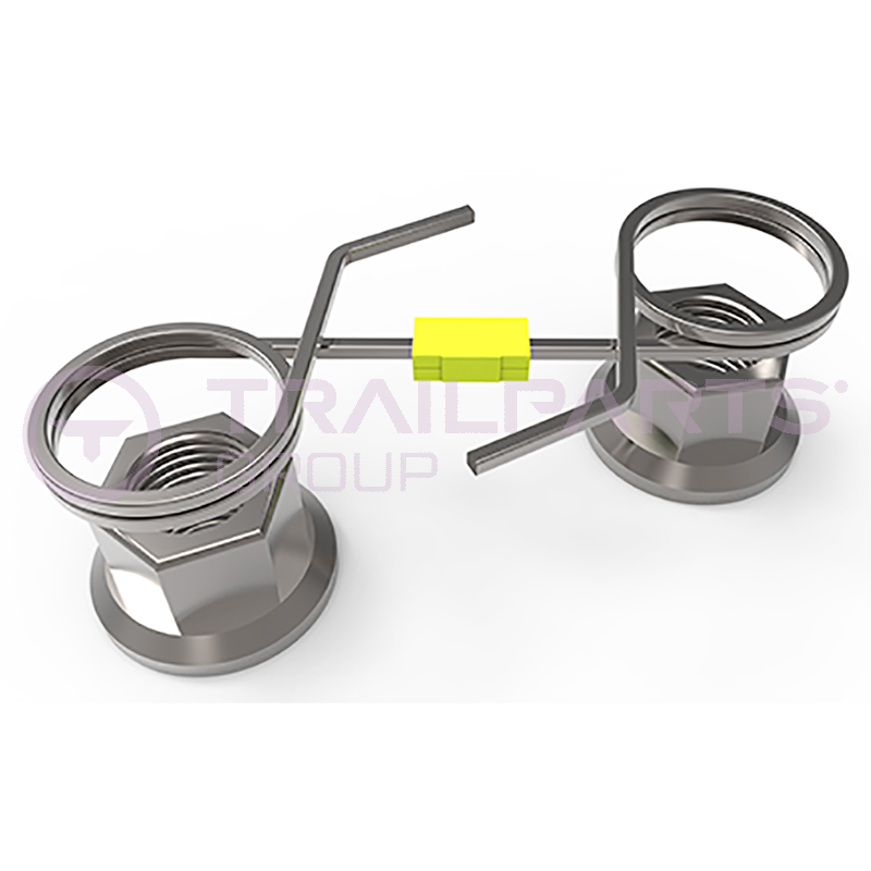 Wheel nut retention device to suit 4 x 19mm x 100mm PCD