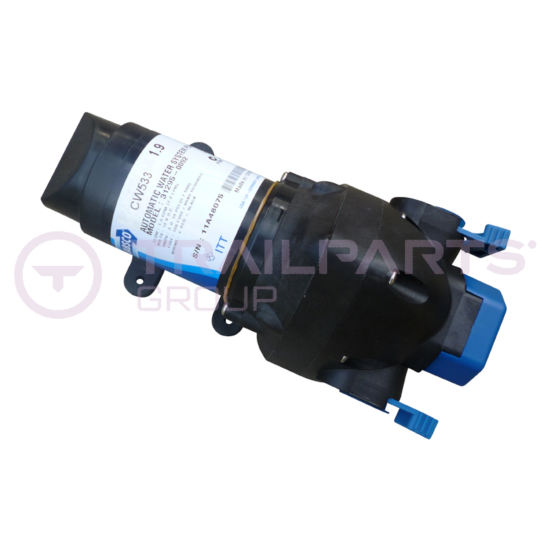 Jabsco water pump 12V 25psi (ON DEMAND) 11LPM