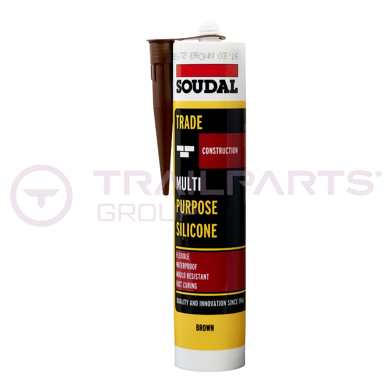 General purpose brown silicone for flooring ply edging 300ml