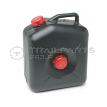 Black waste water carrier 23ltr red caps as used in AJC