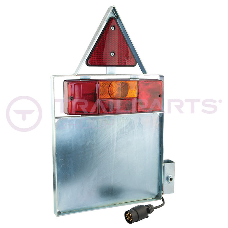 Pipe coil trailer lighting pod complete nearside/left