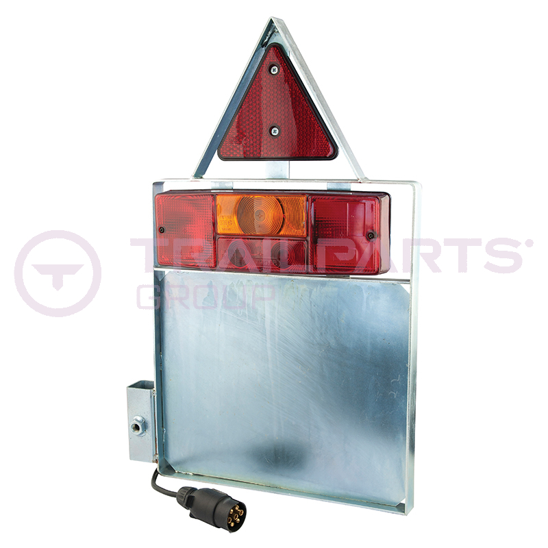 Pipe coil trailer lighting pod complete offside/right