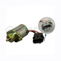 Fuel stop solenoid for Perkins 403C two bolt