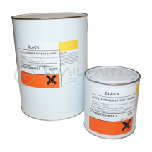 Metal hammer finish paint black gloss 5ltr