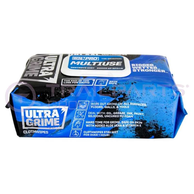 Ultra Grime huge cleaning wipes (x 100)