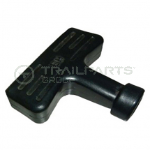 Plastic pull start handle large