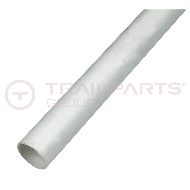 Plastic waste pipe straight 40mm x 3m white
