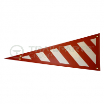 Wide Load wrap around side projection marker red/white LH