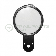 Tax disc holder metal 77mm