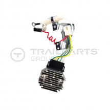 Charging regulator and harness for Yanmar 7 wire c/w fuse