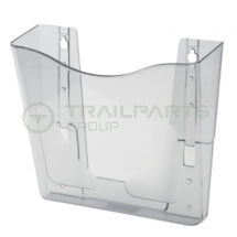 A4 wall mounted document holder 242 x 230 x 52mm
