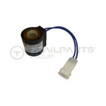 Solenoid coil for modular hydraulics power pack 12VDC