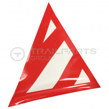 Wide load projection warning triangle 610mm canvas