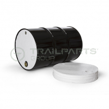 ECOShield oil-only 1ltr drum top covers 56cm dia (x25)