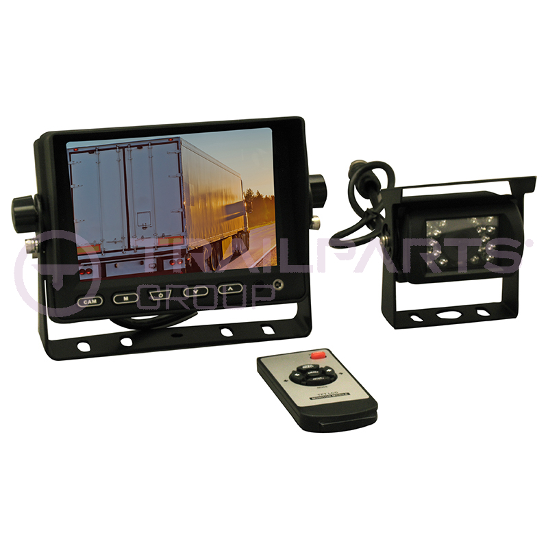 Reversing camera kit 5inch c/w 10m cable