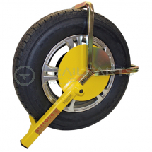 Wheel clamp Insurance Approved 145/195 x 10inch/14inch wheels