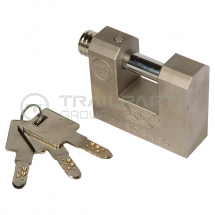 Padlock solid hardened 70mm