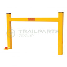Bulldog anti-ram barrier c/w bolt and ground lock casting