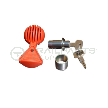 AL-KO locking cylinder & safety ball for AK301