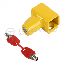 Bulldog sliding lock tube and keys for ST668 van door lock