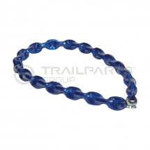 Security chain 10mm x 2m c/w sleeve