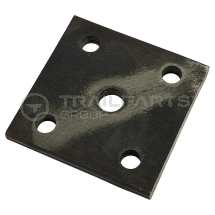 M & E leaf spring spring plate for use with SU1185