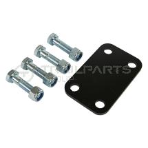 Slider conversion kit to take 4 bolt tow hitch