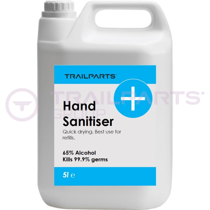 5 Litre 65% Alcohol, Hand & Surface Sanitizer Liquid