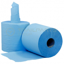 Centrefeed roll recycled blue 190mm x 300m 1 ply (pack of 6)