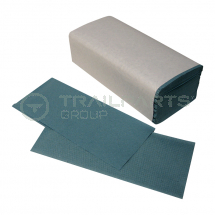 Hand towel interfold recycled blue 15 x 240 per case*